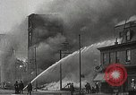 Image of burning building Camden New Jersey USA, 1940, second 56 stock footage video 65675061126