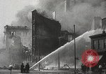 Image of burning building Camden New Jersey USA, 1940, second 59 stock footage video 65675061126