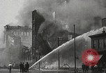 Image of burning building Camden New Jersey USA, 1940, second 60 stock footage video 65675061126
