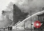 Image of burning building Camden New Jersey USA, 1940, second 62 stock footage video 65675061126