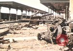 Image of damaged locomotives Sicily Italy, 1943, second 2 stock footage video 65675061152
