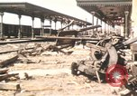 Image of damaged locomotives Sicily Italy, 1943, second 3 stock footage video 65675061152