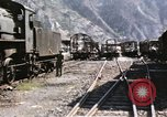 Image of damaged locomotives Sicily Italy, 1943, second 14 stock footage video 65675061152