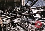 Image of damaged locomotives Sicily Italy, 1943, second 27 stock footage video 65675061152