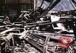 Image of damaged locomotives Sicily Italy, 1943, second 28 stock footage video 65675061152
