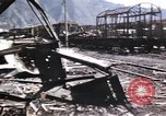 Image of damaged locomotives Sicily Italy, 1943, second 31 stock footage video 65675061152