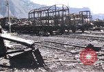 Image of damaged locomotives Sicily Italy, 1943, second 33 stock footage video 65675061152