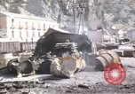 Image of damaged locomotives Sicily Italy, 1943, second 48 stock footage video 65675061152