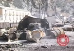 Image of damaged locomotives Sicily Italy, 1943, second 49 stock footage video 65675061152