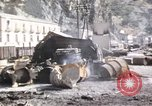 Image of damaged locomotives Sicily Italy, 1943, second 50 stock footage video 65675061152
