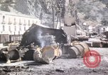 Image of damaged locomotives Sicily Italy, 1943, second 54 stock footage video 65675061152