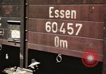 Image of damaged locomotives Sicily Italy, 1943, second 58 stock footage video 65675061152