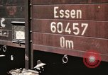 Image of damaged locomotives Sicily Italy, 1943, second 60 stock footage video 65675061152