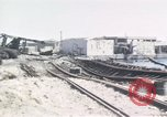 Image of wrecked locomotive Sicily Italy, 1943, second 7 stock footage video 65675061157