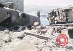 Image of wrecked locomotive Sicily Italy, 1943, second 14 stock footage video 65675061157