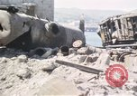 Image of wrecked locomotive Sicily Italy, 1943, second 15 stock footage video 65675061157