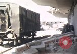 Image of wrecked locomotive Sicily Italy, 1943, second 21 stock footage video 65675061157