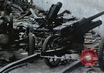Image of wrecked locomotive Sicily Italy, 1943, second 26 stock footage video 65675061157