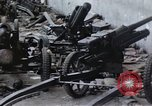 Image of wrecked locomotive Sicily Italy, 1943, second 30 stock footage video 65675061157