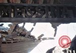 Image of wrecked locomotive Sicily Italy, 1943, second 33 stock footage video 65675061157