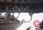 Image of wrecked locomotive Sicily Italy, 1943, second 34 stock footage video 65675061157