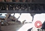 Image of wrecked locomotive Sicily Italy, 1943, second 35 stock footage video 65675061157