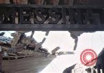 Image of wrecked locomotive Sicily Italy, 1943, second 38 stock footage video 65675061157