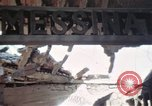 Image of wrecked locomotive Sicily Italy, 1943, second 45 stock footage video 65675061157