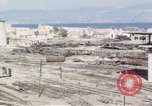 Image of wrecked locomotive Sicily Italy, 1943, second 56 stock footage video 65675061157