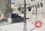 Image of damaged buildings Sicily Italy, 1943, second 22 stock footage video 65675061159