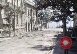 Image of damaged buildings Sicily Italy, 1943, second 29 stock footage video 65675061159