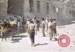 Image of damaged buildings Sicily Italy, 1943, second 51 stock footage video 65675061159
