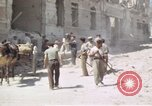 Image of damaged buildings Sicily Italy, 1943, second 52 stock footage video 65675061159