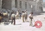 Image of damaged buildings Sicily Italy, 1943, second 53 stock footage video 65675061159