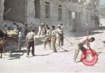 Image of damaged buildings Sicily Italy, 1943, second 54 stock footage video 65675061159