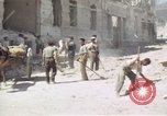 Image of damaged buildings Sicily Italy, 1943, second 55 stock footage video 65675061159