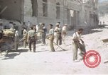 Image of damaged buildings Sicily Italy, 1943, second 56 stock footage video 65675061159