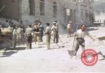 Image of damaged buildings Sicily Italy, 1943, second 57 stock footage video 65675061159