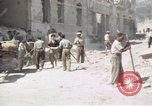 Image of damaged buildings Sicily Italy, 1943, second 58 stock footage video 65675061159