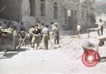 Image of damaged buildings Sicily Italy, 1943, second 59 stock footage video 65675061159