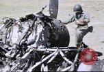 Image of captured airfield Sicily Italy, 1943, second 20 stock footage video 65675061167