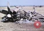 Image of captured airfield Sicily Italy, 1943, second 33 stock footage video 65675061167