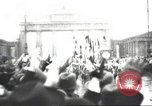 Image of Berliners celebrate appointment of Hitler as Chancellor Berlin Germany, 1933, second 21 stock footage video 65675061176