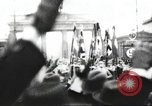 Image of Berliners celebrate appointment of Hitler as Chancellor Berlin Germany, 1933, second 25 stock footage video 65675061176