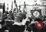 Image of Berliners celebrate appointment of Hitler as Chancellor Berlin Germany, 1933, second 28 stock footage video 65675061176