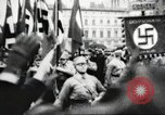 Image of Berliners celebrate appointment of Hitler as Chancellor Berlin Germany, 1933, second 29 stock footage video 65675061176