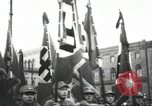 Image of Berliners celebrate appointment of Hitler as Chancellor Berlin Germany, 1933, second 30 stock footage video 65675061176