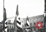 Image of Berliners celebrate appointment of Hitler as Chancellor Berlin Germany, 1933, second 34 stock footage video 65675061176