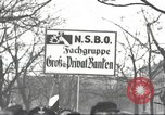 Image of National Socialist Factory Cell Organization gathering in Berlin Berlin Germany, 1933, second 17 stock footage video 65675061179