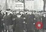 Image of National Socialist Factory Cell Organization gathering in Berlin Berlin Germany, 1933, second 40 stock footage video 65675061179